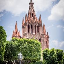 The Jardin Principal & The Parroquia de San Miguel Arcángel
